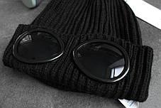 Шапка C.P. Company Black (ориг.бирка), фото 3