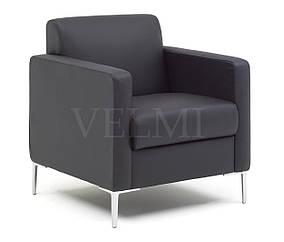 Кресло для ожидания Oreo кожзаменитель Boom-23 (Velmi TM)