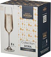 Набор бокалов для шампанского Bohemia Dora 200 мл