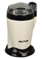 Кофемолка 130 Вт 50 г HILTON KSW 3390 White/Black