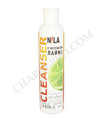 Клинсер для зняття липкого шару Nila 250 ml. (лайм)
