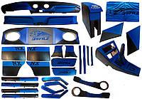 Тюнинг салона ВАЗ 2101 - 2107 синий