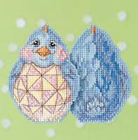 Набор для вышивки крестиком и бисером Blue Chick Mill Hill