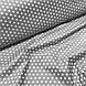 Ткань польская хлопковая, мелкие белые звезды на сером, фото 4