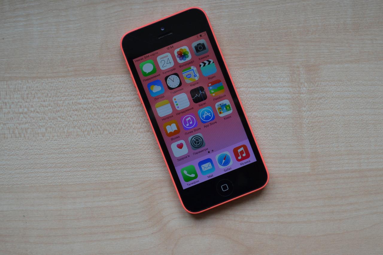Apple Iphone 5c 8Gb Pink Neverlock Оригинал!