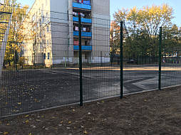 Спортивное покрытие для игровой площадки г.Чернигов 1