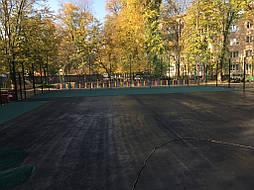 Спортивное покрытие для игровой площадки г.Чернигов 8