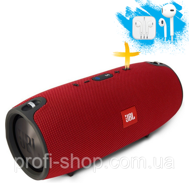 Портативная колонка Bluetooth Powerbank JBL Xtreme mini блютуз MP3 FM USB. Красная. Red