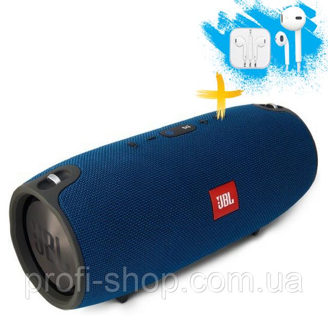 Портативная колонка Bluetooth Powerbank JBL Xtreme mini блютуз MP3 FM USB. Синяя. Blue