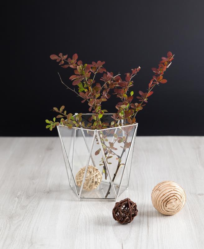 Стеклянная ваза в технике Тиффани