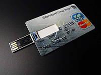 USB накопитель, флешка на 16 GB в виде кредитной карты Platinum