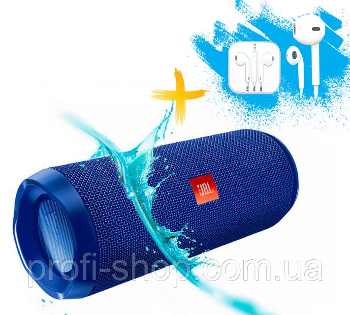 Портативная колонка JBL Flip 4. Синий. Blue