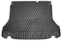 Коврики в багажник Daewoo Lanos, Sens (седан) 1997 - 2018, черные, пластиковые (Avto-Gumm, 211159) - штука