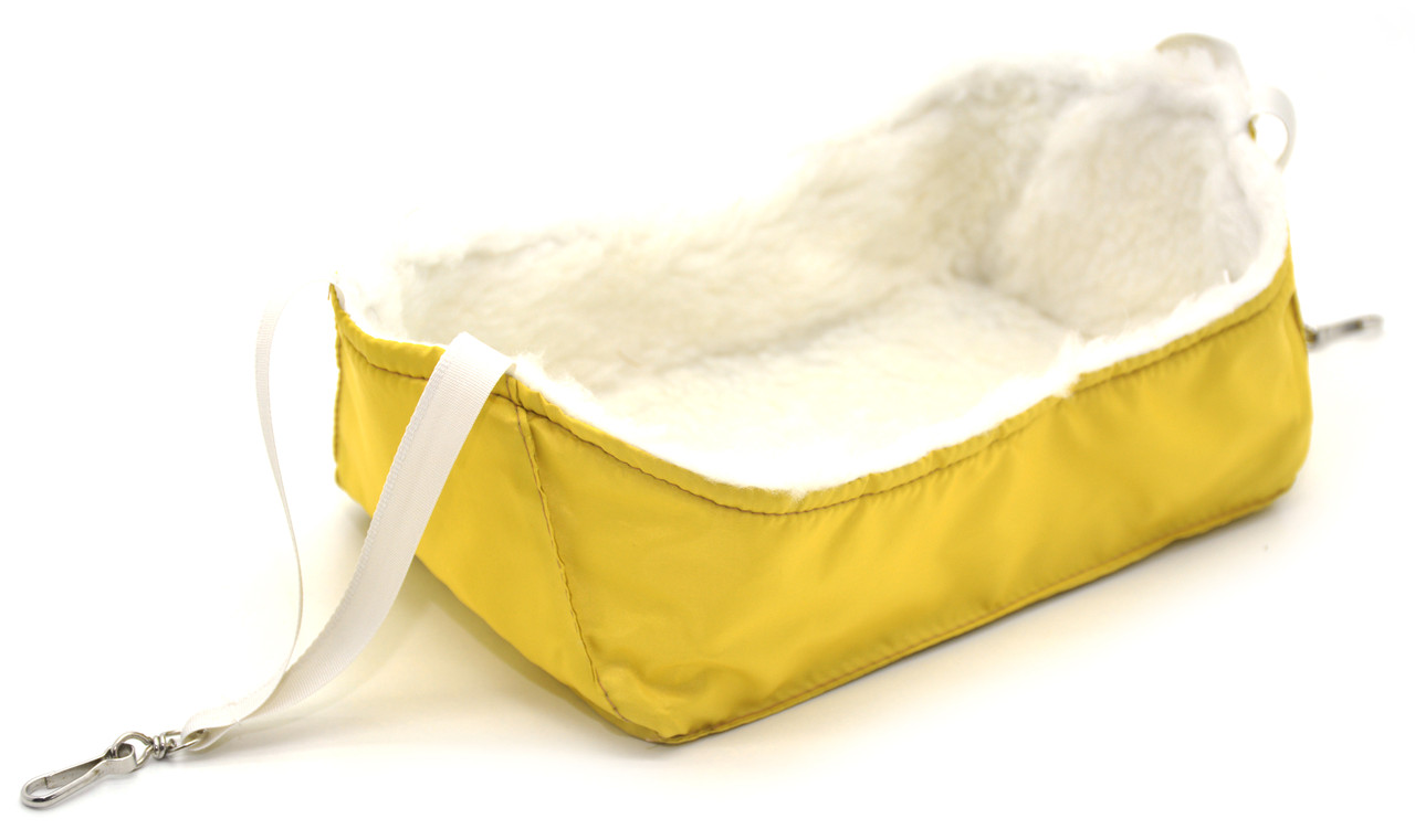 Гамак для кролика 290х170х110 желтый