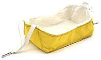 Гамак для шиншиллы 240х150х90 желтый