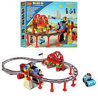 Железная дорога конструктор Паровозик Томас 8288D крупные детали