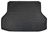 Коврики в багажник Chevrolet Lacetti (седан) 2003 - 2013, черные, пластиковые (Avto-Gumm, 211142) - штука