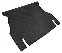 Коврики в багажник Daewoo Nexia I (N150) (рестайлинг) 2008 - 2014, черные, пластиковые (Avto-Gumm, 211650) - штука