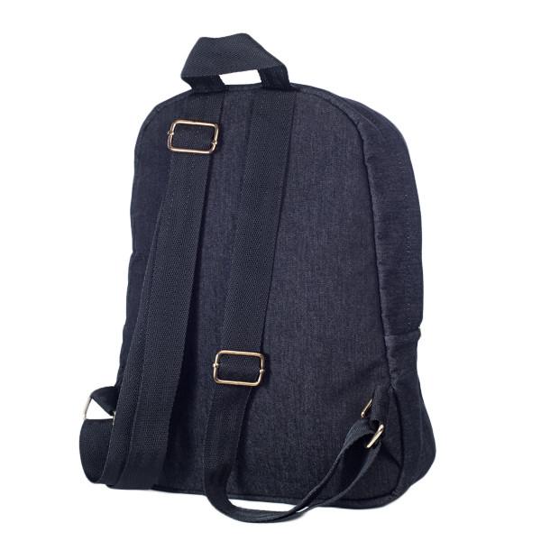 Стильный женский джинсовый рюкзак Mayers с логотипом, фото 5