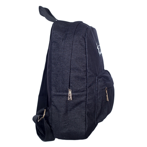 Стильный женский джинсовый рюкзак Mayers с логотипом, фото 6