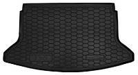 Коврик в багажник Hyundai i30 III (PD) (хэтчбек) 2017 - черные, пластиковые (Avto-Gumm, 211644) - штука