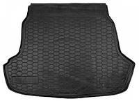 Коврики в багажник Hyundai Sonata vii (lf) 2014 - черные, пластиковые (Avto-Gumm, 211575) - штука