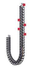 PROTUM Компактна, легка кабеленесущая ланцюг для безопорного застосування
