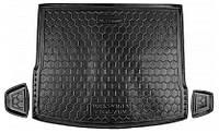 Коврики в багажник Vw Tiguan II 2016 -, черные, пластиковые (Avto-Gumm, 211613) - штука