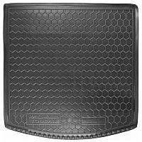 Коврик в багажник Vw Touran II 2010 - 2015 черные, пластиковые (Avto-Gumm, 211431) - штука