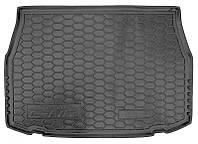 Коврики в багажник Toyota C-HR 2016 -, черные, пластиковые (Avto-Gumm, 211636) - штука