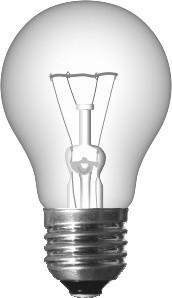 Електролампа розжарювання  25 Ватт, ТМ Іскра