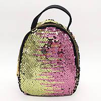 Рюкзак паетках різнобарвний, фото 1