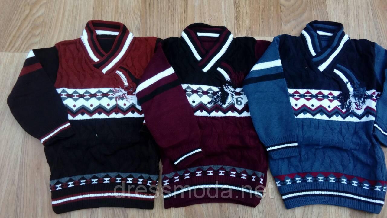 вязаный свитер для мальчиков турция 6 7 лет продажа цена в