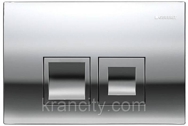 Встраиваемая клавиша смыва для инсталляции  Geberit Delta50 115.135.21.1,хром
