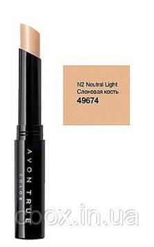 Маскирующий карандаш, корректор, цвет Neutral Light - Слоновая кость, Avon True Colour, Эйвон, 49674