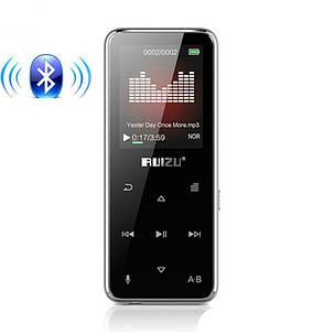 MP3 Плеер RuiZu X16 8Gb Bluetooth Original Серебро, фото 2