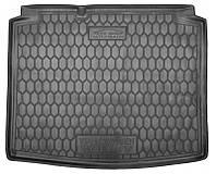 Коврик в багажник Vw Golf IV (хетчбэк) 1997 - 2006 черные, полиуретановые (Avto-Gumm, 111665) - штука