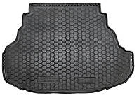 Коврик в багажник Toyota Camry XV50 (Elegance) 2011 - 2017 черные, полиуретановые (Avto-Gumm, 111466e) - штука
