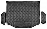 Коврик в багажник Toyota RAV4 IV 2012 - 2019 черный, полиуретановые (Avto-Gumm, 111543) - штука