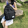 Черный удобный рюкзак