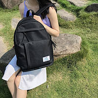 Черный удобный рюкзак, фото 1