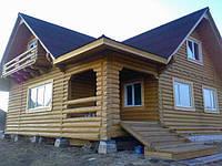 Строительство дома из дерева Одесса