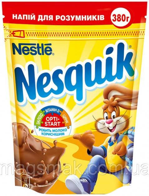 Швидкорозчинний какао-напій Nesquik Opti Start 380 г