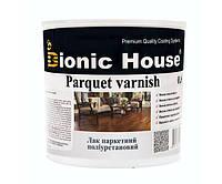 Лак паркетный, ультрастойкий на водной основе, профессиональный (Bionic House Parquet varnish Joncryl) 10 л