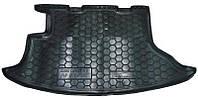 Коврик в багажник Chevrolet Niva 2002 - черные, полиуретановые (Avto-Gumm, 111140) - штука