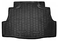 Коврик в багажник Nissan Almera Classic 2006 - 2013 черные, полиуретановые (Avto-Gumm, 111323) - штука
