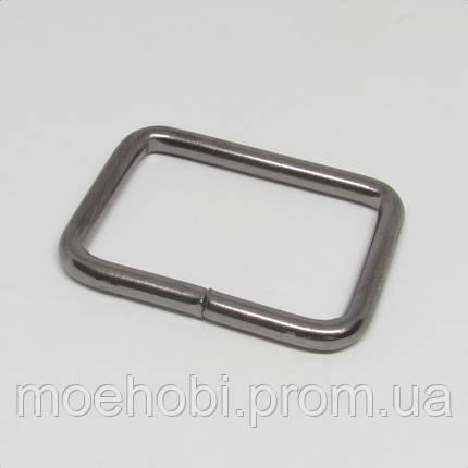 Рамки для сумок (30мм) темный никель,  04136, фото 2