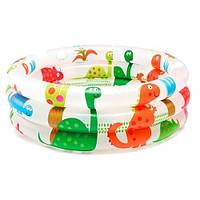 Детский надувной бассейн Intex 57106, «Динозавр» 61 х 22 см, 61 х 22 см , фото 1