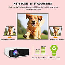 Видеопроектор Hoolick портативный LCD 1080P Full-HD , фото 2