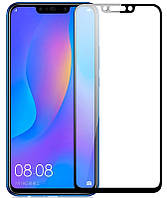 Защитное стекло 9D Full glue Huawei P Smart Plus (Black)